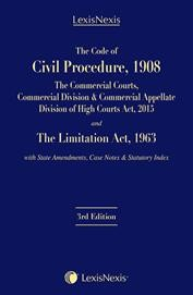 The Code of Civil Procedure, 1908-The Commercial Courts, Commercial Division & Commercial Appellate Division of High Courts Act, 2015 and The Limitation Act, 1963 with State Amendments, Case Notes & Statutory Index (Palmtop Edition)