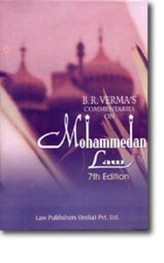 MOHAMMEDAN LAW - COMMENTARIES ON MOHAMMEDAN LAW, 8TH EDN. (NEW EDN.)