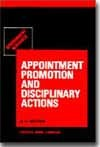 Government Servants: Appointment, Promotion and Disciplinary Actions