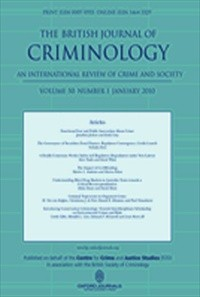 The British Journal of Criminology [Print]