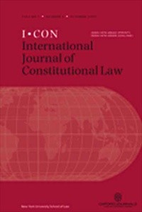 International Journal of Constitutional Law [Print]