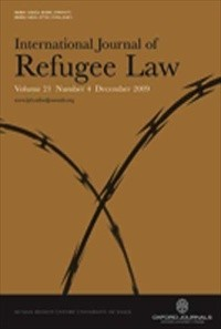 International Journal of Refugee Law [Print]