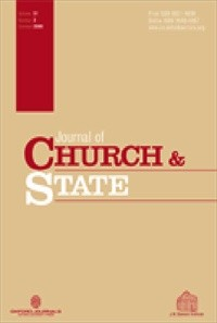Journal of Church and State [Print]
