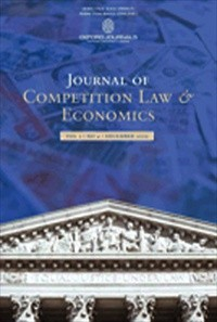 Journal of Competition Law & Economics [Print]