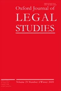 Oxford Journal of Legal Studies [Print]