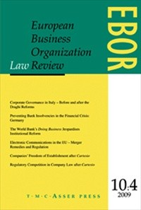 European Business Organization Law Review  [Print]