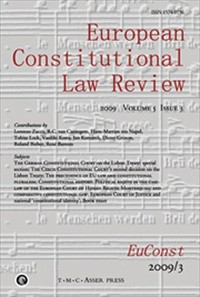 European Constitutional Law Review  [Print]