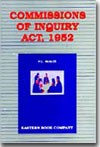 Commissions of Inquiry Act, 1952