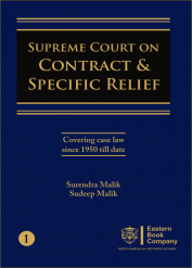 Supreme Court on Contract and Specific Relief Volume I