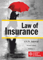 J V N Jaiswals Law of Insurance Volume 1