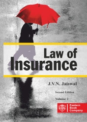 J V N Jaiswals Law of Insurance Volume 2