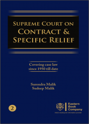Supreme Court on Contract and Specific Relief Volume II