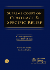 Supreme Court on Contract and Specific Relief Volume III
