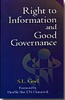 Right to Information and Good Governance