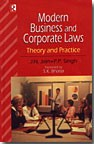 Modern Business and Corporate Laws: Theory and Practice
