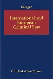 International and European Criminal Law