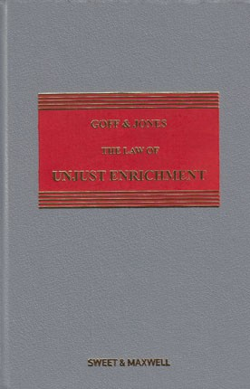 Goff & Jones: The Law of Unjust Enrichment 9th ed