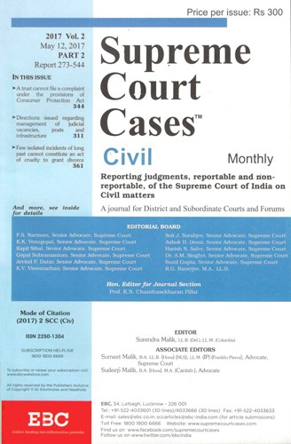 Supreme Court Cases (Civil) - SCC(Civ) - SCC Civil Subscription
