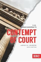 V.G. Ramachandrans  Contempt of Court by V.K. Mehrotra