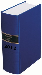 The Business Law Reports (Bound Volumes)
