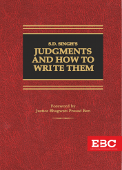 S.D. Singh  Judgments and  How to Write Them