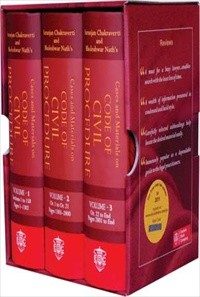 Suranjan Chakraverti and Bholeshwar Nath's Cases and Materials on Code of Civil Procedure (In 3 Large Volumes)