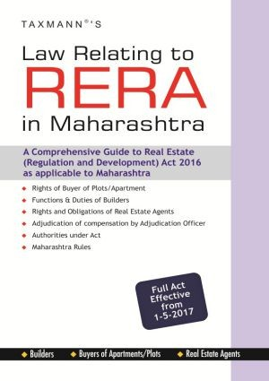 Law Relating to RERA in Maharashtra - Full Act Effective from 1-5-2017