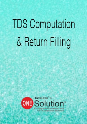 TDS Computation & Return Filing (Multi-user) - One Solution