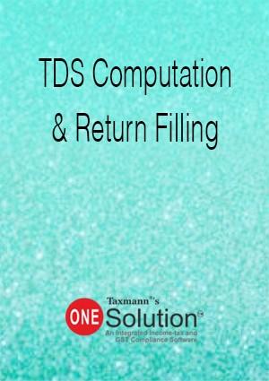 TDS Computation & Return Filing (Multi-user) - One Solution