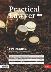 The Practical Lawyer - FPI REGIME - Regulatory and Tax Update