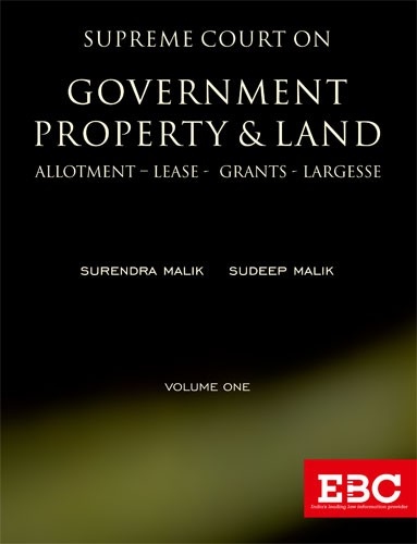 Supreme Court on Government Property and Land (In 2 Volumes)- Pre-Publication