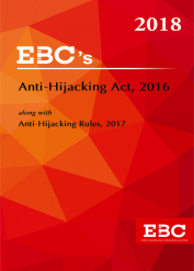 Anti Hijacking Act, 2016 along with Anti-Hijacking Rules, 2017