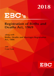 Registration of Births and Death Act, 1969 and The births, Death and Marriages Registration Act, 1886