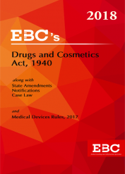 Drugs and Cosmetics Act, 1940 with Medical  Devices Rules, 2017