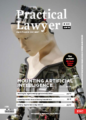 The Practical Lawyer - MOUNTING ARTIFICIAL INTELLIGENCE