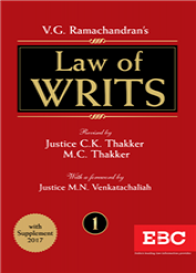 V.G. Ramachandran's  Law of Writs (in 2 volumes)