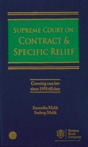 Supreme Court on Contract & Specific Relief in 3 Volumes