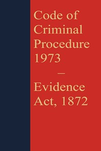 Code of Criminal Procedure 1973 with Evidence Act 1872 (Coat Pocket Edition)[As amended upto Act 22 of 2018]Bare Act - Evidence Act(Print/eBook)