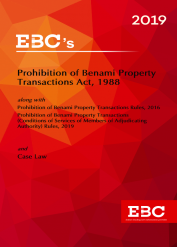 Prohibition of Benami Property Transactions Act, 1988