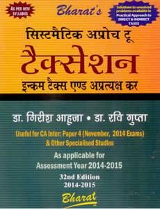 Systematic Approach to taxation Aakar evam apratiyaksh kar