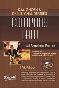 COMPANY LAW with Secretarial Practice in 4 volumes (with FREE CD)