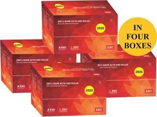 Bare Acts Box Set - 2020 - Containing 248 Important Bare Acts and Rules (Pre-Order)