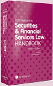 Securities and Financial Services Law Handbook 13th edition