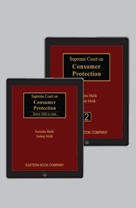 Supreme Court on Consumer Protection in 2 Volumes by Surendra Malik and Sudeep Malik