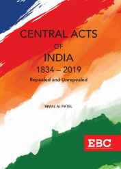 Central Acts of India (1834-2019) Repealed and Unrepealed (Pre-Publication)