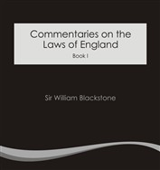 Commentaries on the Laws of England (e-Book)