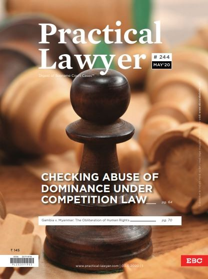 Practical Lawyer - Checking Abuse of Dominance Under Competition Law