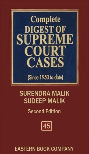 Complete Digest of Supreme Court Cases, Vol 45