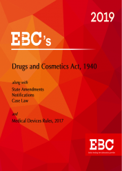 Drugs and Cosmetics Act 1940 with Medical Devices Rules 2017