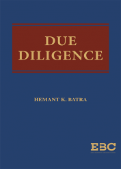 Due Diligence by Hemant K Batra
